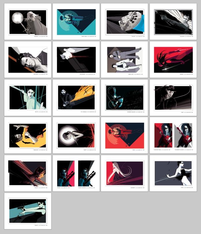 Postcards by Craig Drake