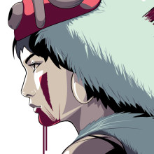 Princess Mononoke Portrait