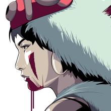 Princess Mononoke Portrait