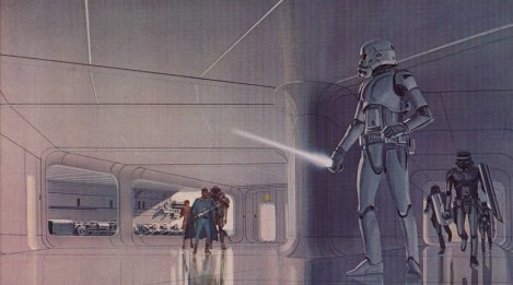 Ralph McQuarrie Star Wars The Force Awakens Concept Art