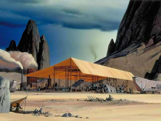 Ralph McQuarrie Star Wars The Force Awakens Concept Art