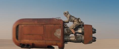 Star Wars Episode VII The Force Awakens MilnersBlog Daisy Ridley New Speederbike