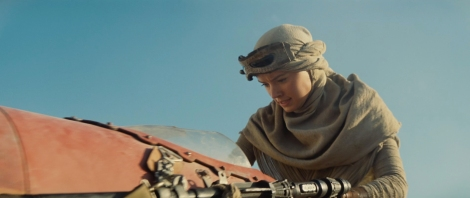 Star Wars Episode VII The Force Awakens MilnersBlog Daisy Ridley Tatooine