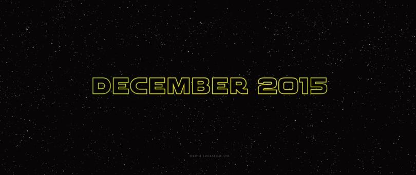 Star Wars Episode VII The Force Awakens MilnersBlog Star Wars December 2015