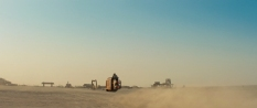 Star Wars Episode VII The Force Awakens MilnersBlog Tatooine and Daisy Ridley on her Speederbike 02
