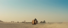 tar Wars Episode VII The Force Awakens MilnersBlog Tatooine and Daisy Ridley on her Speederbike