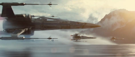Star Wars Episode VII The Force Awakens MilnersBlog X Wings Attack