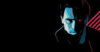 Tech Noir Poster for the Bottleneck Art Gallery Han Solo by Craig Drake ©2014.