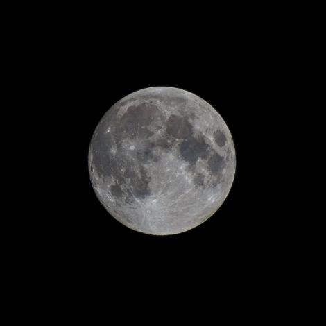 Hunters Moon over Leeds