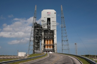 NASA Orion Flight Test EFT1 on the Launchpad