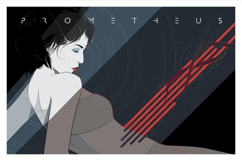 Prometheus Space Abortion by Craig Drake