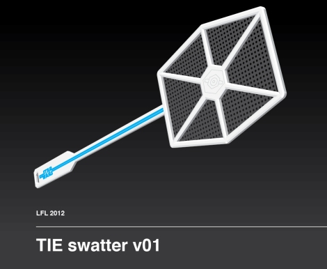 Star Wars TIE Swatter by Craig Drake