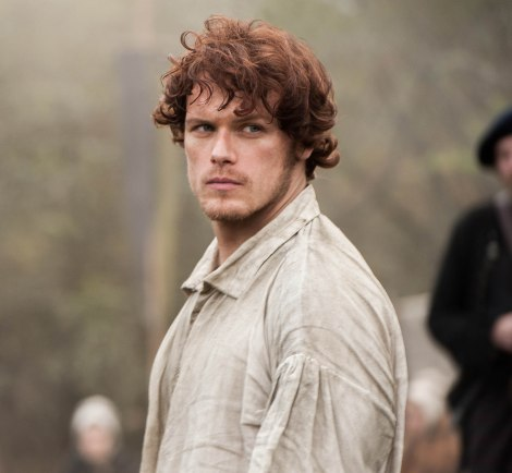 Jamie in Outlander