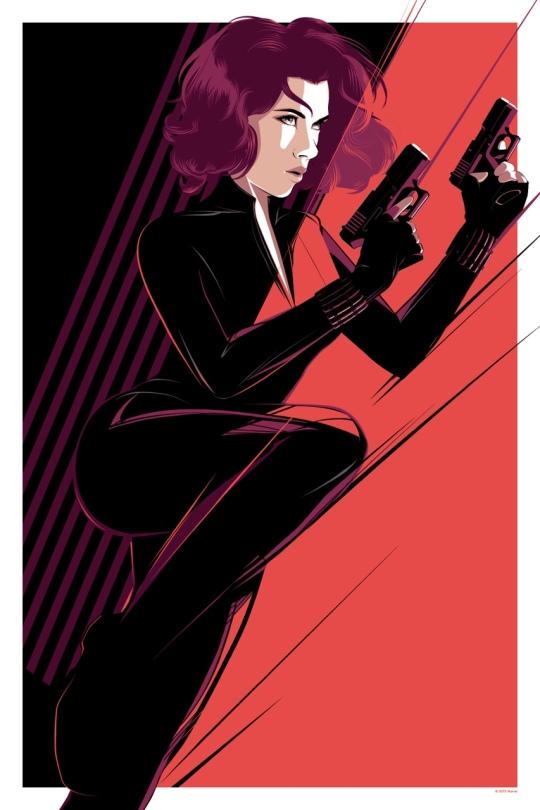 Black Widow Mondo Art by Craig Drake Avengers Age of Ultron