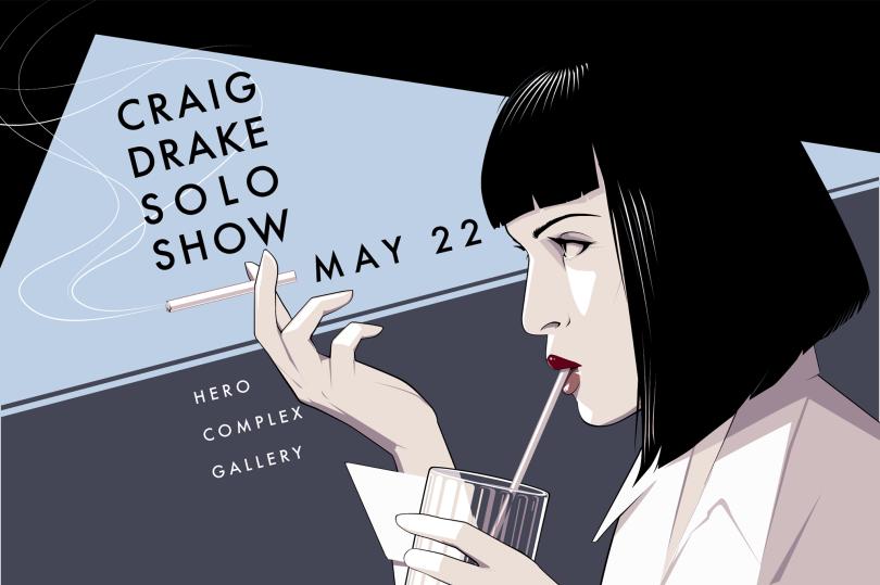 Craig Drake Solo Show II at Hero Complex