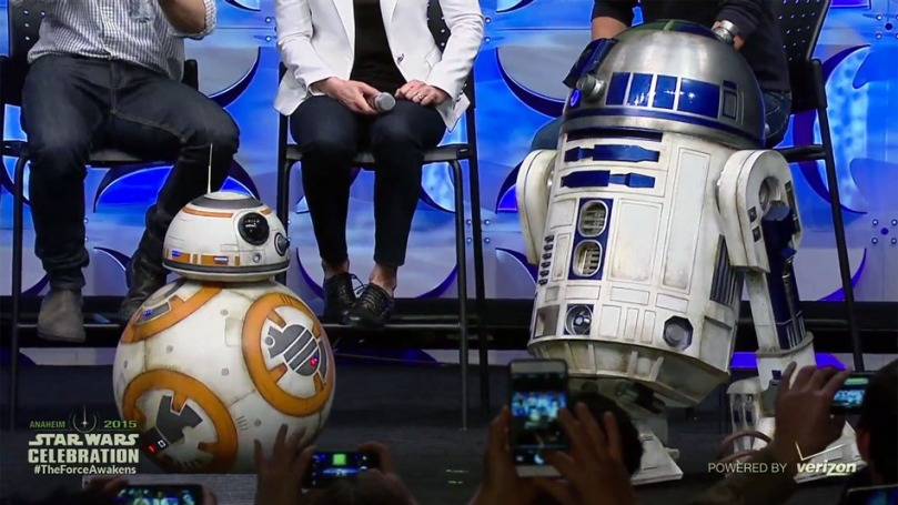 The Real BB8-and-R2D2 Star Wars The Force Awakens