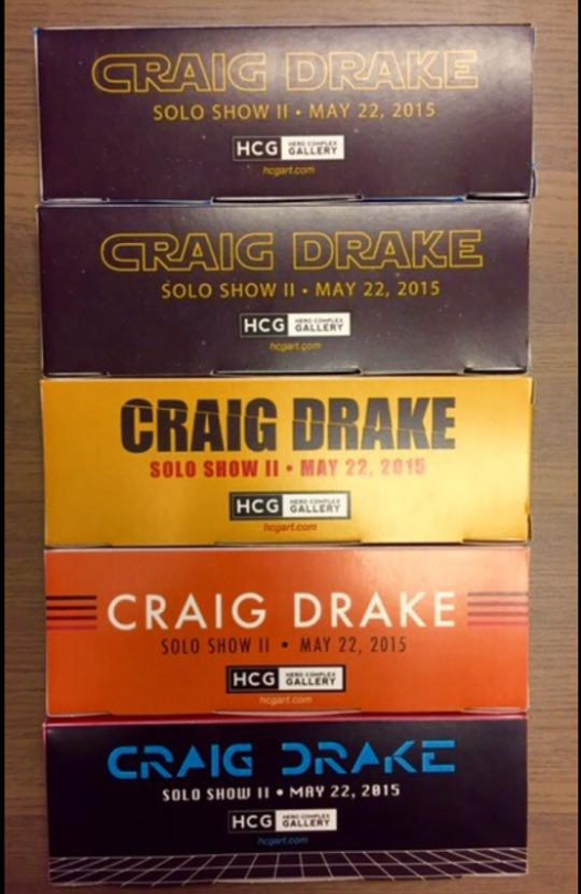 Craig Drake Solo Show II Chocolate Boxes