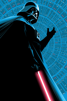 Darth VADER Star Wars by Craig Drake Solo Show II Hero Complex Gallery