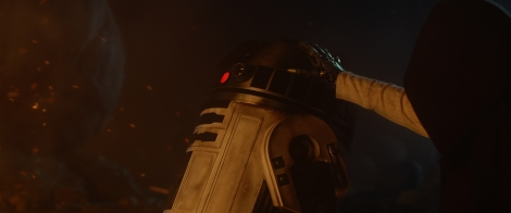 Luke and Artoo Star Wars The Force Awakens