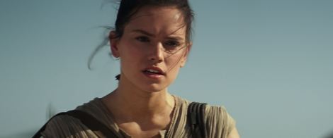 Rey on the Planet Bakku Star Wars The Force Awakens