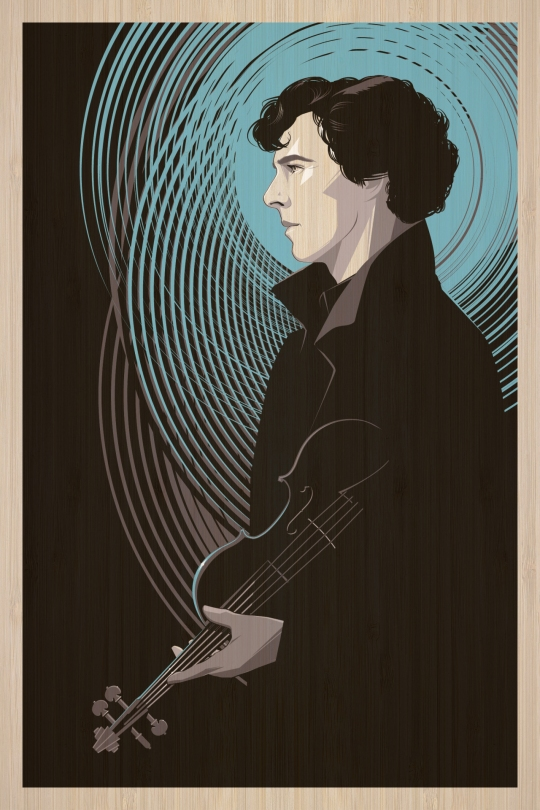 Sherlock by Craig Drake Solo Show II Hero Complex Gallery