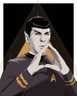 Spock LLAP by Craig Drake Solo Show II Hero Complex Gallery