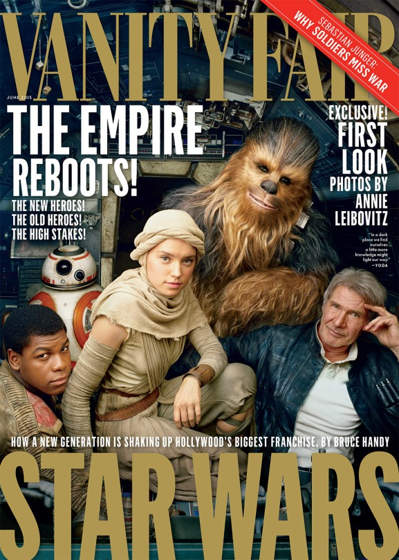 Star Wars The Force Awakens Vanity Fair Front Cover