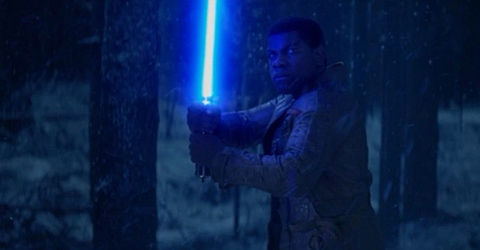 Finn the Jedi from Star Wars The Force Awakens