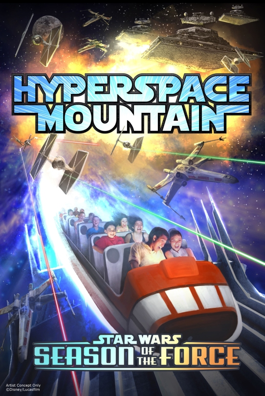 Hyperspace Mountain Star Wars Season of the Force