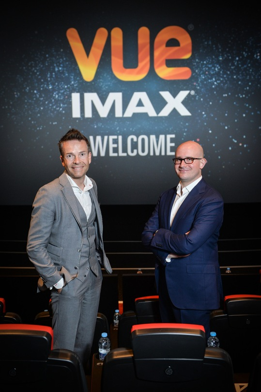 The opening of the new Vue IMAX cinemaat Leeds Kirkstall Road, Leeds. A special advanced screening of Mission Impossible: Rogue Nation was attended by Vue UK/Irelend MD Kevin Styles and Vice President of Theatre Development at IMAX, Giovanni Dolci. All photography by Daniel Lewis/Vue Entertainment.
