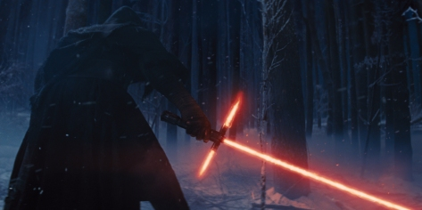 The famous crossguard lightsaber The Force Awakens