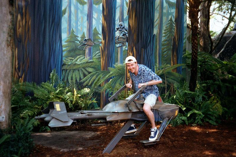 MilnersBlog at Star Tours Florida