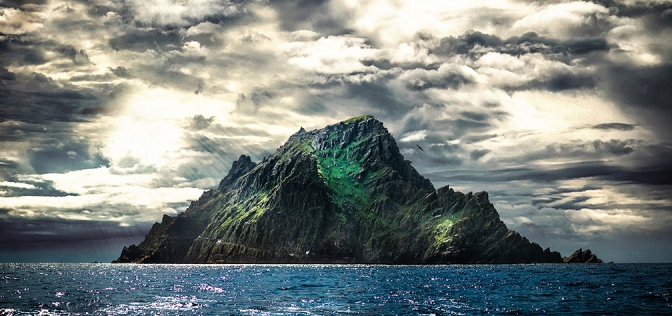 Skellig Michael Rock Star Wars The Force Awakens by Anthony Riiordan Photography Copyright 2015 MilnersBlog Header