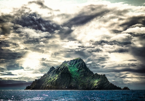 Skellig Michael Rock Star Wars The Force Awakens by Anthony Riiordan Photography Copyright 2015