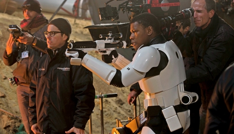 Star Wars John Boyega's Finn in Stormtrooper Action