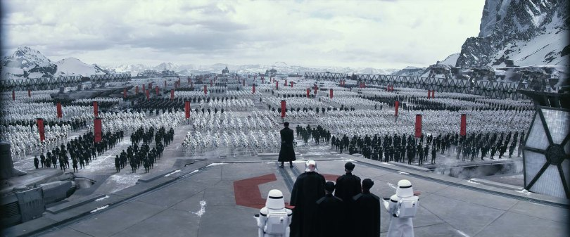 The First Order assembles The Force Awakens