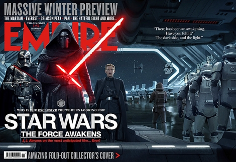 The Star Wars The Force Awakens Empire Magazine October First Order Cover
