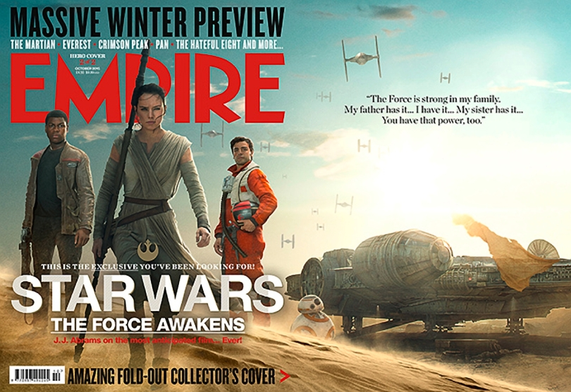 The Star Wars The Force Awakens Empire Magazine October Resistance Cover