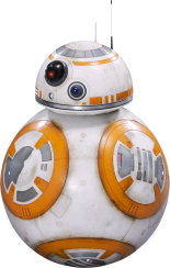 BB8 Star-Wars-Ep7-The-Force-Awakens-Characters-Cut-Out-with-Transparent-Background