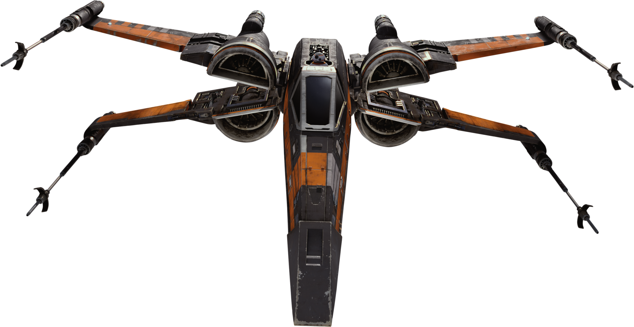Black Squadron T-70 X-Wing Star-Wars-The-Force-Awakens ...