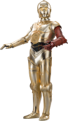 C-3PO Star-Wars-Ep7-The-Force-Awakens-Characters-Cut-Out-with-Transparent-Background