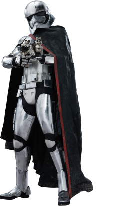 Captain Phasma Star-Wars-Ep7-The-Force-Awakens-Characters-Cut-Out-with-Transparent-Background