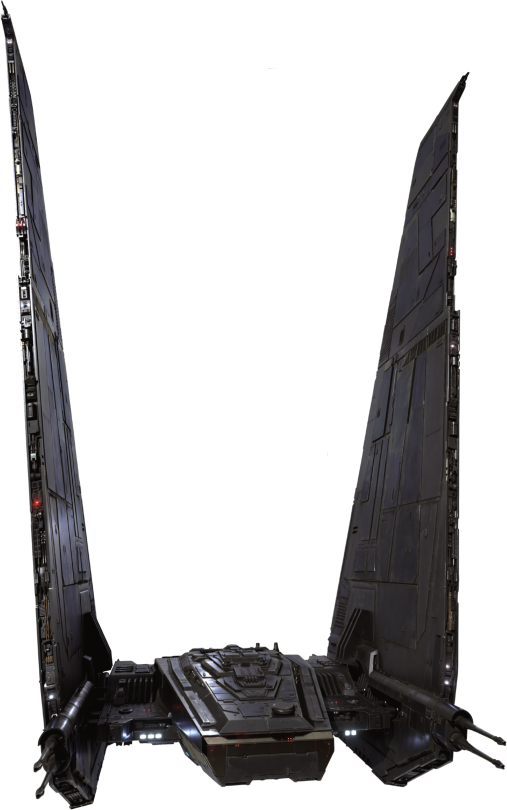 Kylo Rens Command Ship Star-Wars-The-Force-Awakens-Spacecraft-Cut-Out-with-Transparent-Background