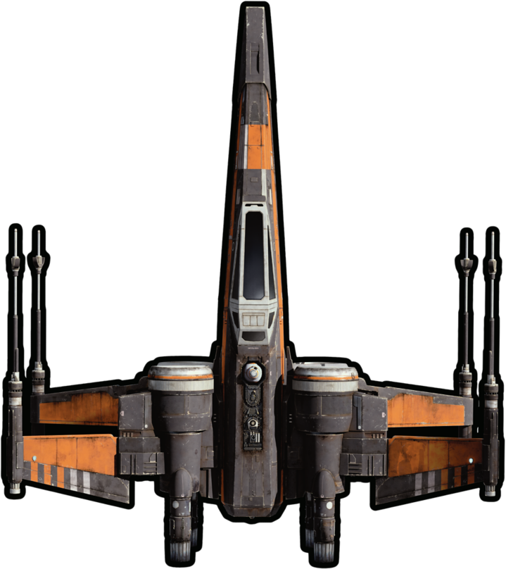 Y Wing Png Poe Dameraon T-70 X-Wi...