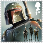 Royal Mail's Star Wars The Force Awakens Stamp Collection - Boba Fett