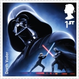 Royal Mail's Star Wars The Force Awakens Stamp Collection - Darth Vader