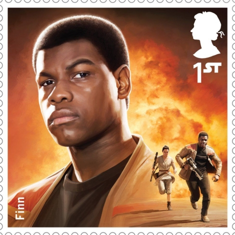 Royal Mail's Star Wars The Force Awakens Stamp Collection - Finn