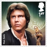 Royal Mail's Star Wars The Force Awakens Stamp Collection - Han Solo