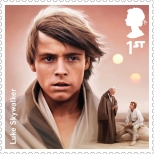 Royal Mail's Star Wars The Force Awakens Stamp Collection - Luke Skywalker