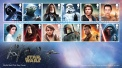 Royal Mail's Star Wars The Force Awakens Stamp Collection - Souvenir Set